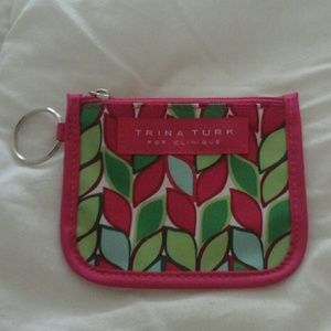 Trina Turk for Clinique zip pouch